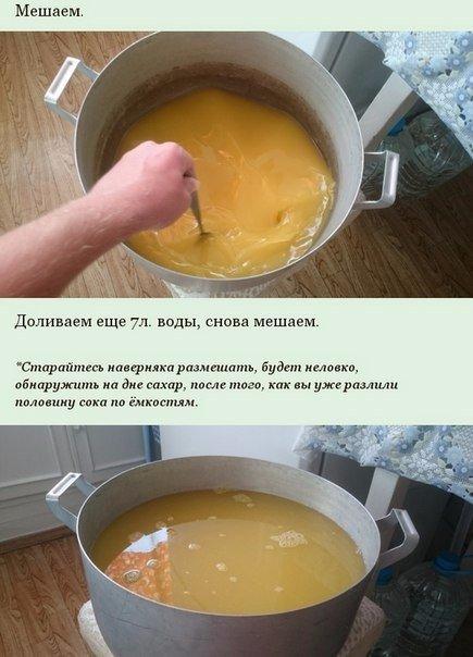 Десять литров сока из пяти апельсинов!