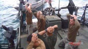 Опубликовано видео ареста пограничниками Ирана американцев-нарушителей