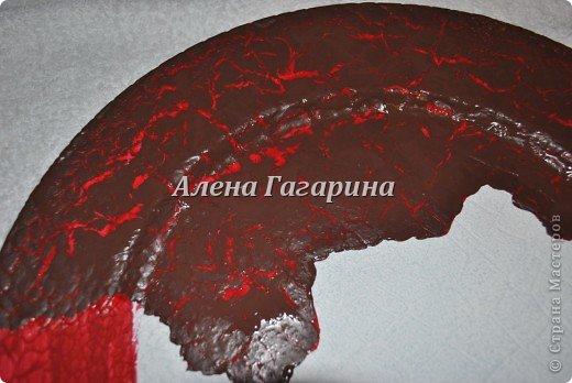 Декор предметов Мастер-класс Декупаж Тарелка Фламенко Бумага фото 8