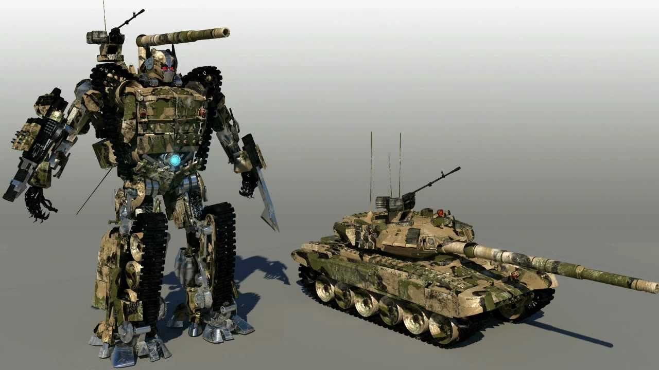 УВЗ занялся превращением танка Т-90 в робота
