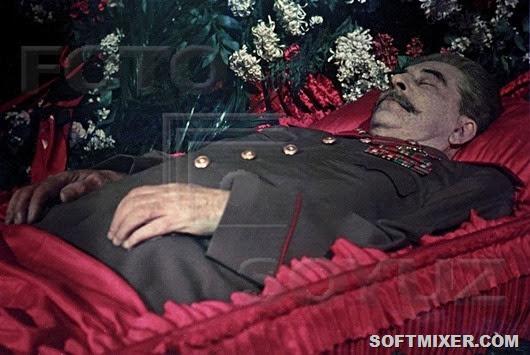 О перезахоронении тела Сталина
