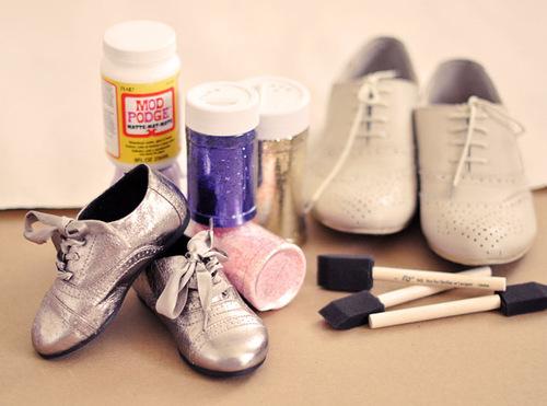 Как обновить обувь фото