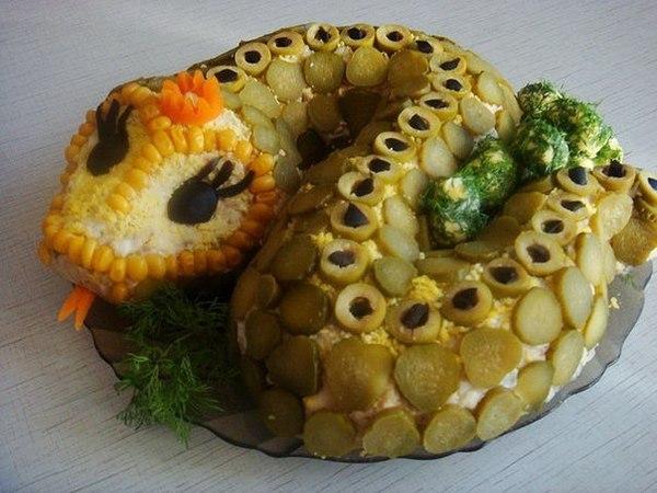 Салат ЗмеяОригинальный салатик, простой в...