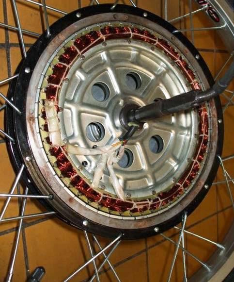 Комплект мотор колесо своими руками 4