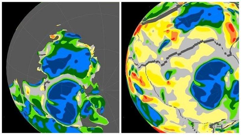 Ученые обнаружили остатки древних континентов подо льдом Антарктики
