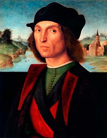 Рафаэль. Мужской портрет
