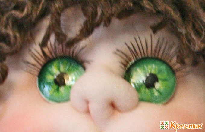 Глаза куклы