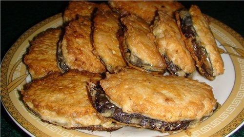 """Жареные баклажаны """"под мясом"""" - просто, быстро и вкусно!"""