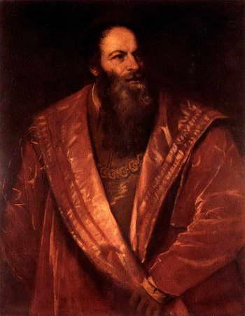 Тициан. Портрет Пьетро Аретино