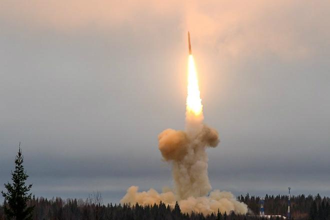 Запуск Тополь-М: чистая мощь…