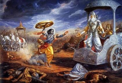 Летательные аппараты и ядерное оружие в Древней Индии