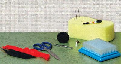 Инструмент для валяния из шерсти