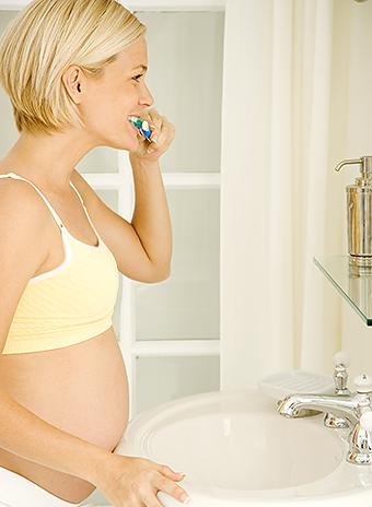 Воспаление десны во время беременности как лечить