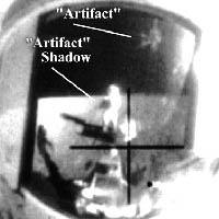 Увнличенное изображение на лицевой пластине