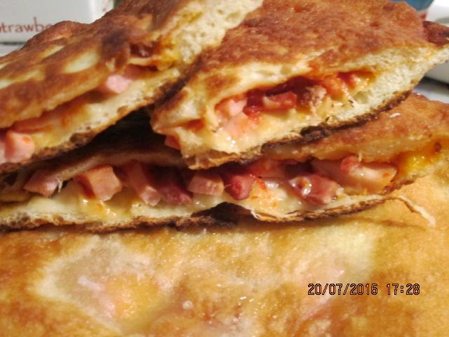 Жареная пицца