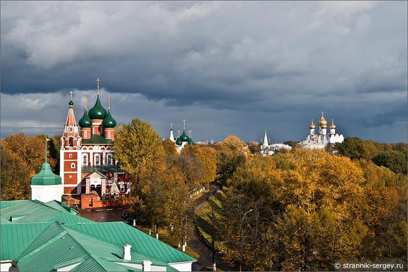 рославль вид сверху Спасо-Преображенский монастырь
