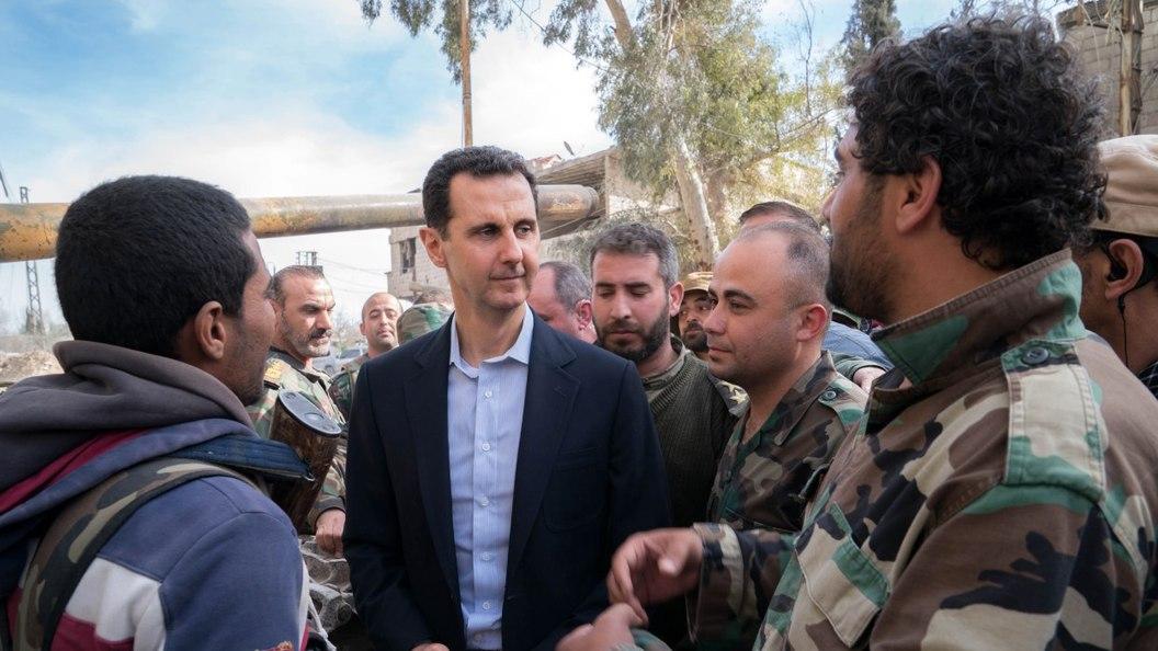 Асад не обязан делать анонсы…