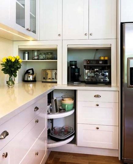Преимущества и недостатки того или иного места расположения микроволновки в кухне