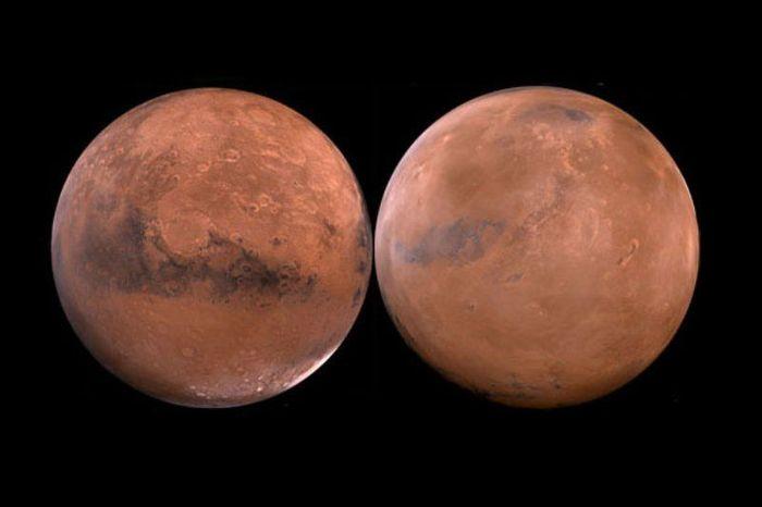 7 самых больших загадок Марса (7 фото)