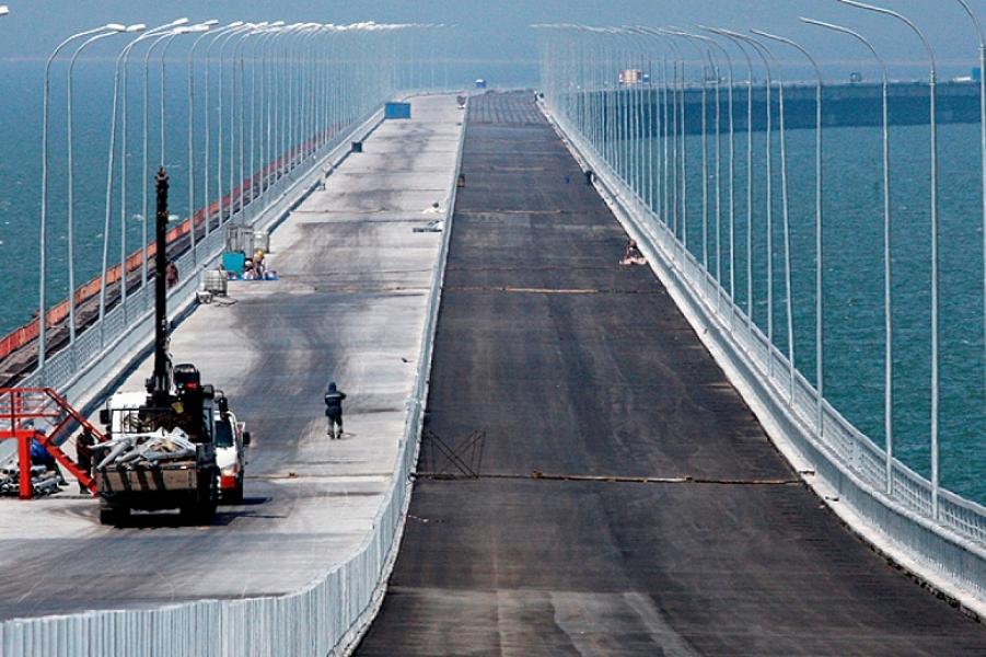 Крымский (Керченский) мост всё! Порошенко подает в суд