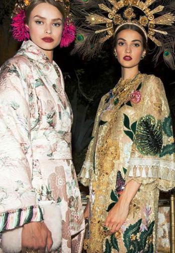 Domenico Dolce и Stefano Gabbana.Alta Moda Portofino осень-зима 2015