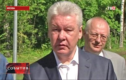 Собянин осмотрел новый эколого-просветительский центр в Кусково
