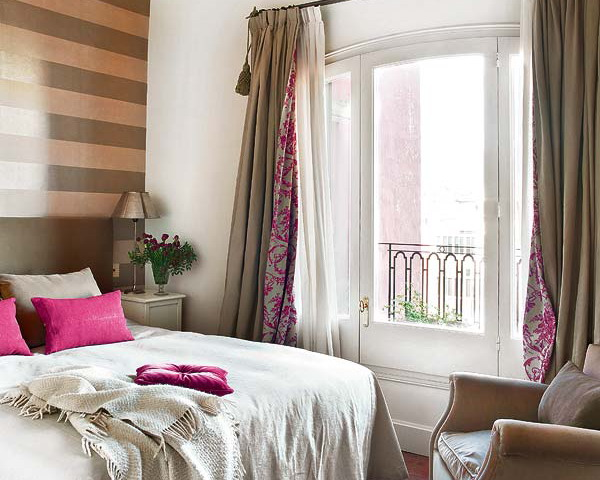 Идеи штор для спальни фото