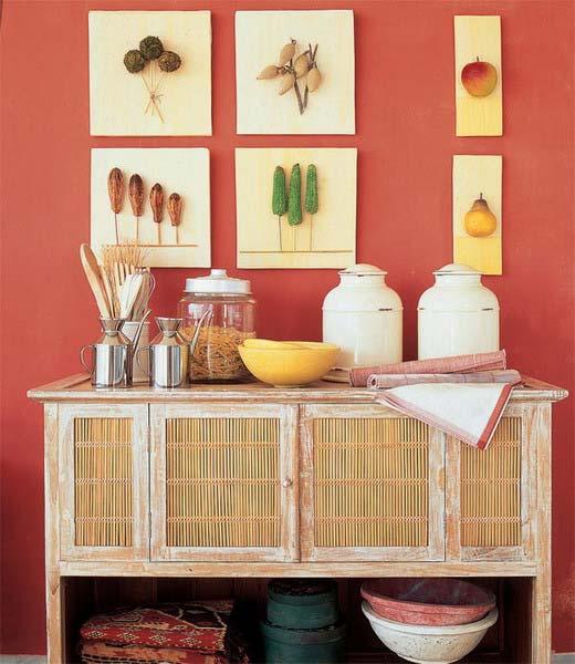 Идеи для стен кухни своими руками