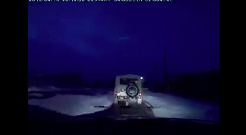 Погоня за УАЗом с неожиданной концовкой. Смотреть всем!!!