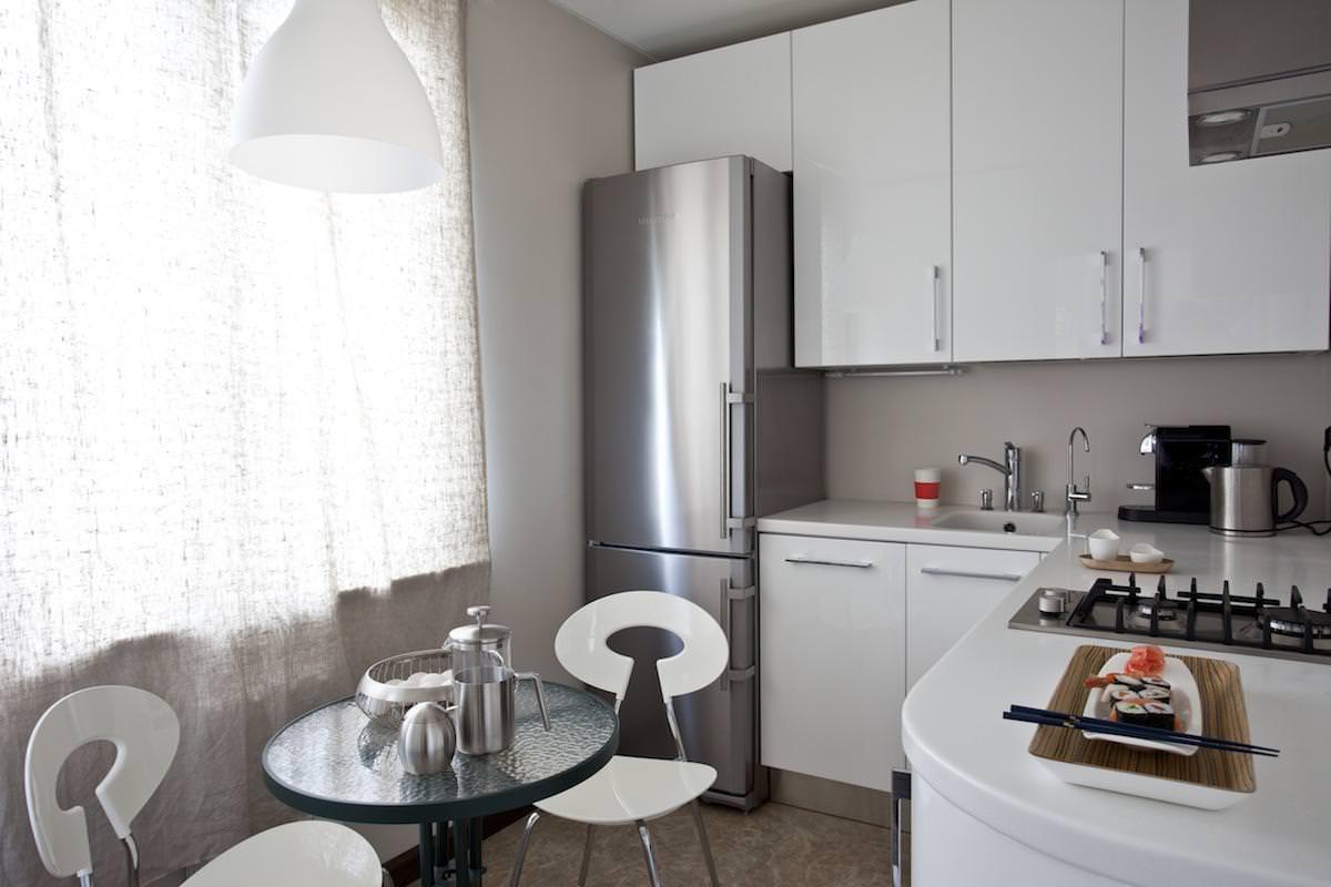 современное оформление интерьера кухни