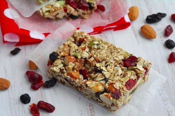 Орехово-злаковое печенье (без выпечки) - очень вкусно и полезно!