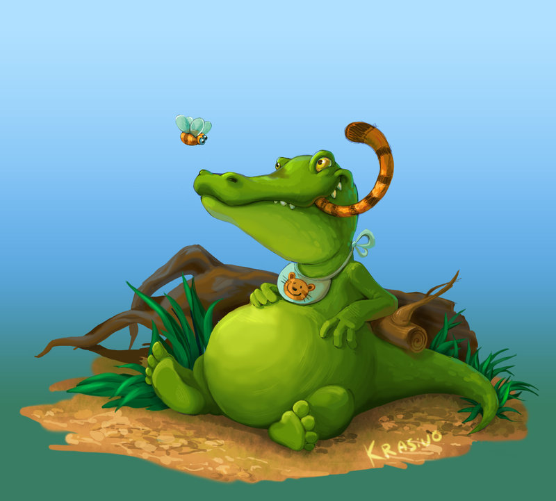 Как крокодильчик Тома в детс…