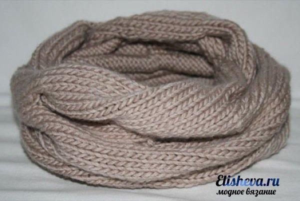 Ультрамодный шарф снуд