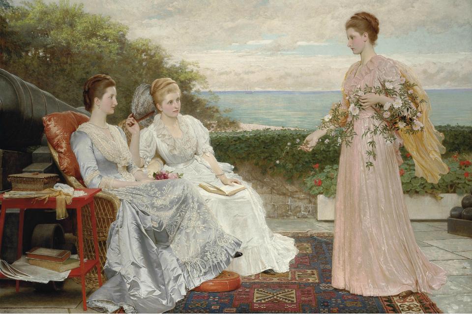 Чарльз Эдвард Перуджини (Charles Edward Perugini), 1839-1918. Англия
