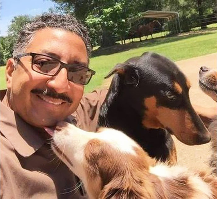UPS Driver Is Caught Taking Selfies With Dogs