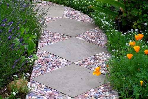 Как сделать садовую дорожку из тротуарной плитки