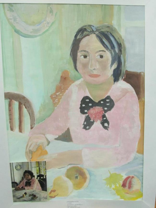 Дети нарисовали шедевры мировой живописи