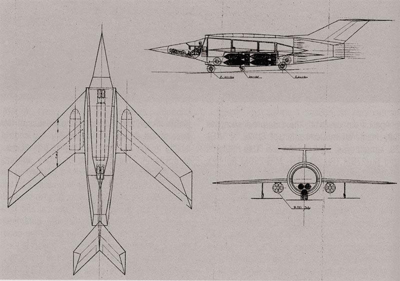 Малоизвестные проекты бомбардировщиков с ПВРД конструктора А.С. Яковлева