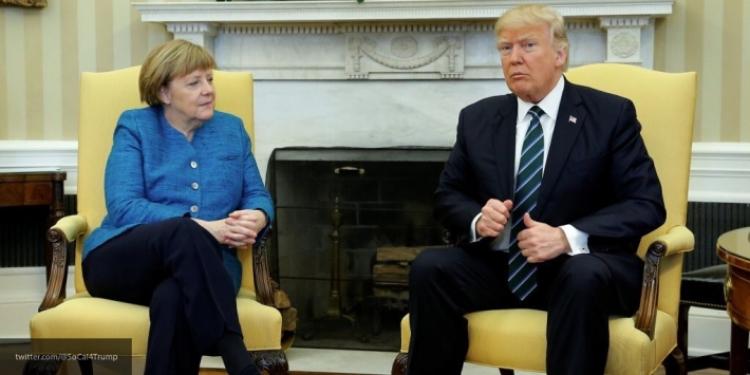 НАТО преткновения: Трамп не согласен с Меркель по вопросу расходов альянса