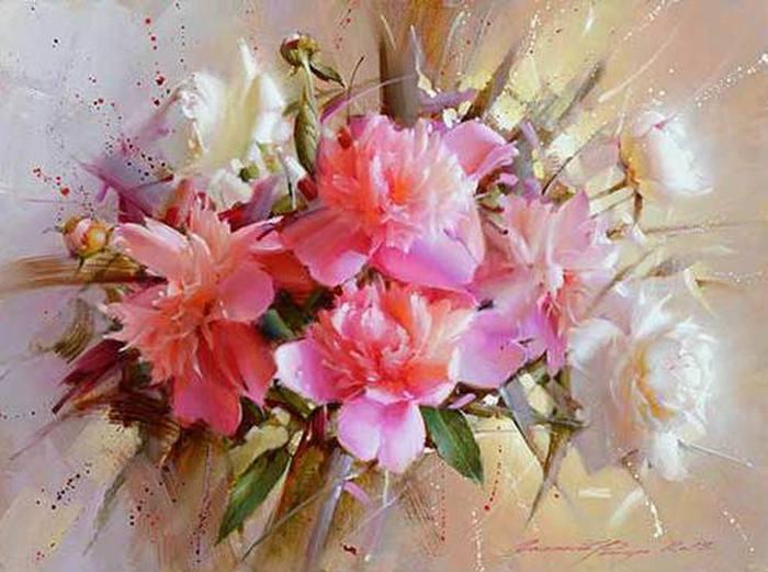 натюрморты цветы-03