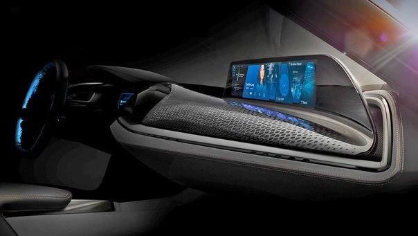 BMW приоткрыла интерьер автомобиля из будущего.