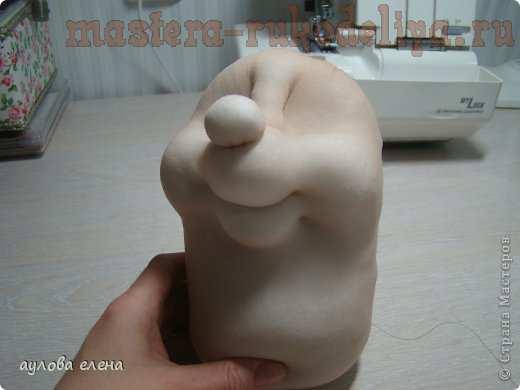 Мастер-класс по шитью игрушек: Ёжик