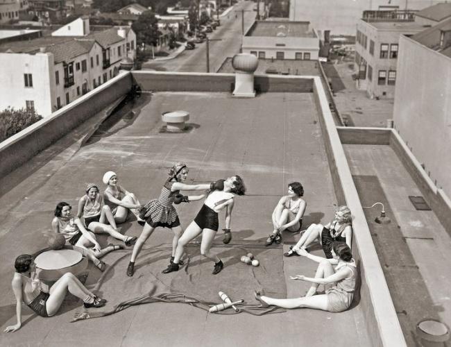 Бокс на крыше