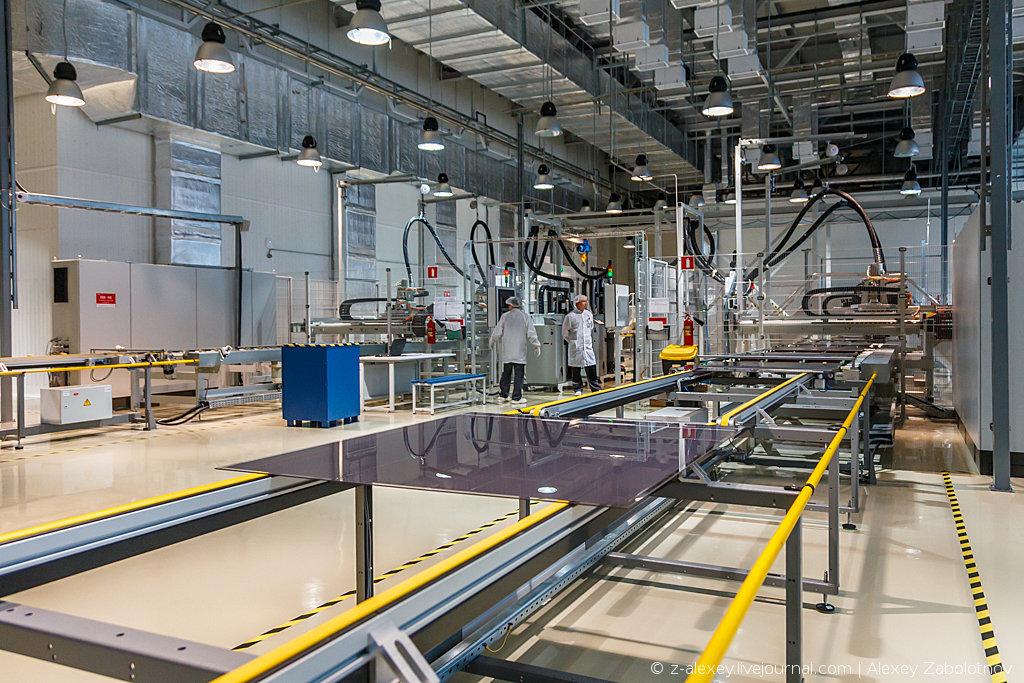 Экскурсия по заводу «Хевел»  ( Россия) – как производят современные солнечные модули