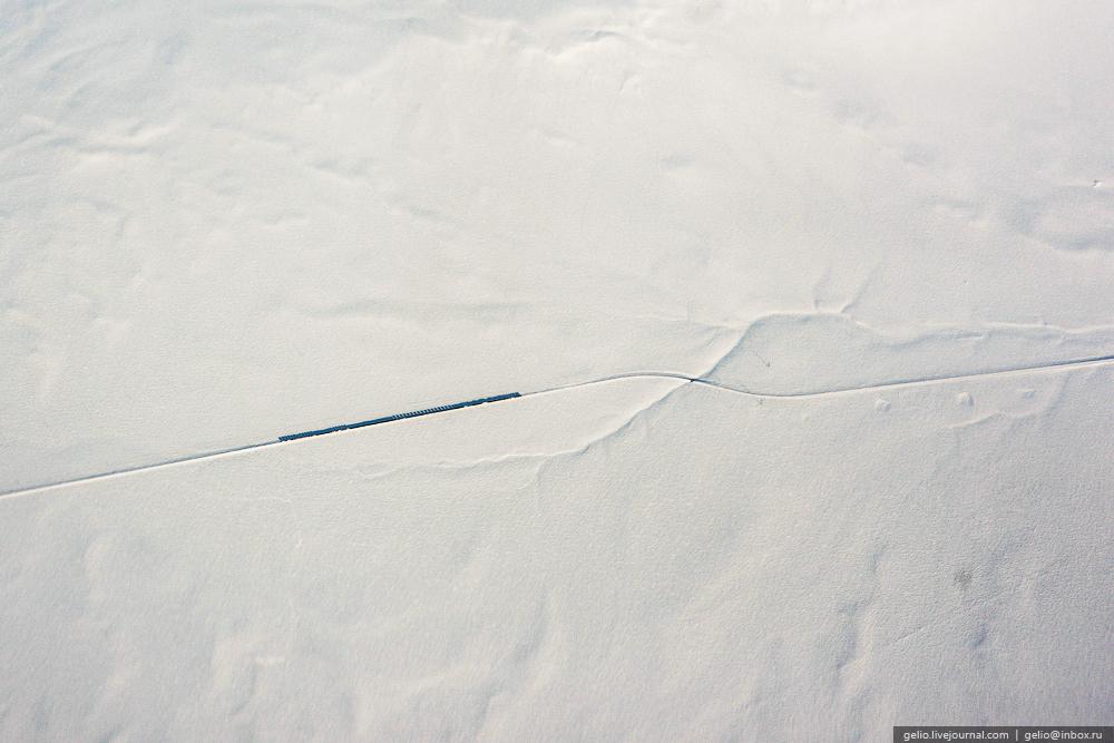 Такое можно увидеть только с самолета