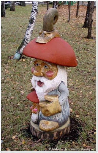 w 109907 2 Деревянные садово парковые скульптуры Сергея Лебедева