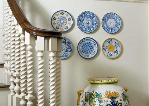 Wall decor plates