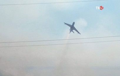 Поиски пропавшего Ил-76 приостановлены до утра