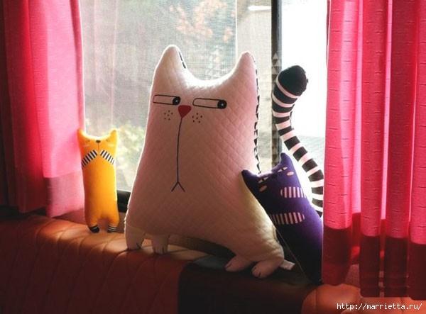 Смешная подушка-игрушка *Кош…