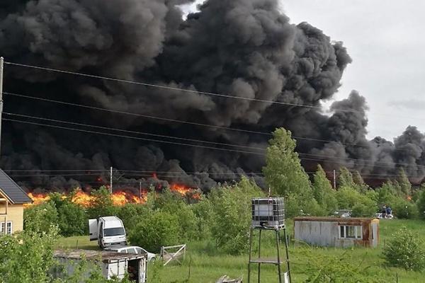 Навывоз 14 тыс тотходов сосгоревшей свалки вЮрмале уйдет 700тыс.евро